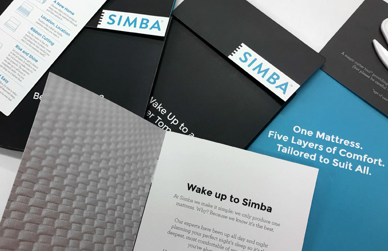 Accelerate graphics marketing design print online services simba welcome packs print fulfillment reheart Choice Image